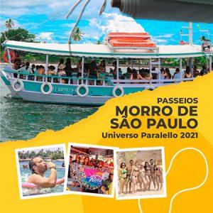 Passeio MORRO DE SÃO PAULO no Universo Paralello 2021