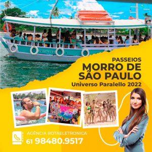 Passeio MORRO DE SÃO PAULO no Universo Paralello 2022